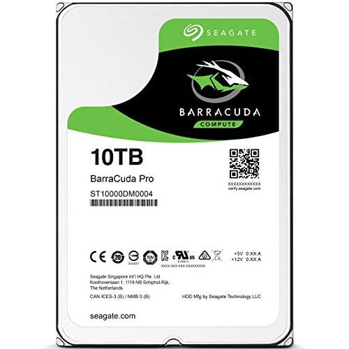 ST10000DM0004 [BarraCuda Pro(10TB HDD 3.5インチ SATA 6G 7200rpm 256MB)]