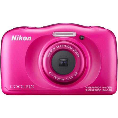 ★16GB SDカードプレゼント★COOLPIX W100PK ピンク