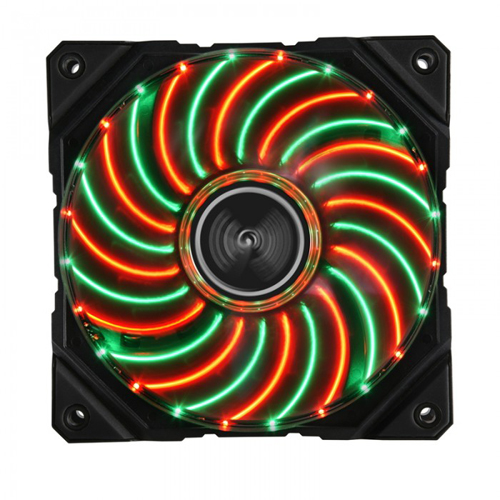 ENERMAX UCDFVD12P [ケースファン D.F.VEGAS DUO 12cm Red/Green LED]