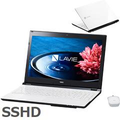 NEC PC-SN232FSA8-3 [LAVIE Smart NS(S)(Core i3-6100U 4G 1TB SSHD 15.6 DSM マウス Win10 ホワイト)]