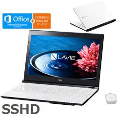 NEC PC-SN232FSA8-4 [LAVIE Smart NS(S)(Core i3-6100U4G 1TB SSHD 15.6 DSM マウス Win10 H&B ホワイト)]