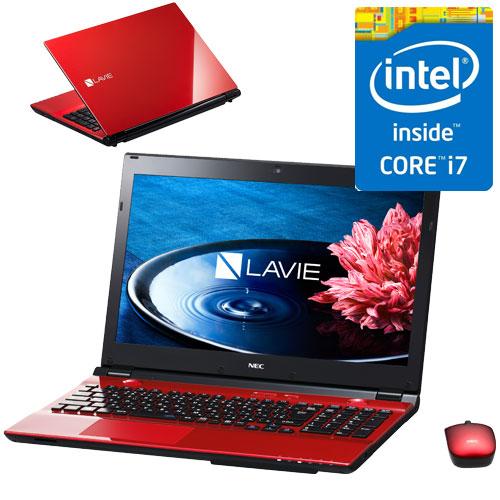 NEC PC-SN256HSA8-1 [LAVIE Smart NS(S)(Core i7-6500U/4GB/500GB/15.6/DSM/マウス/Win10/レッド)]