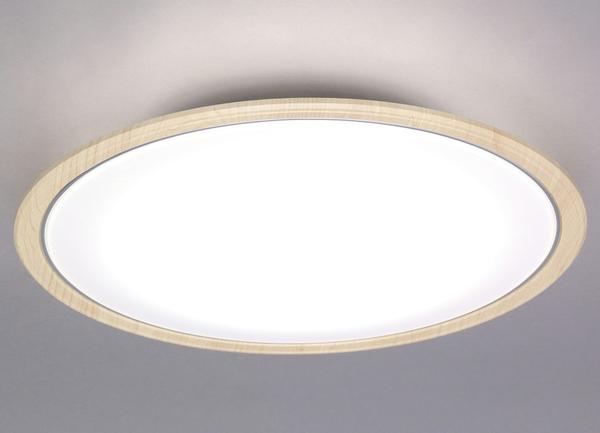 アイリスオーヤマ CL12DL-5.0WF-U [LEDシーリングライト 木調フレーム 12畳 調光・調色]