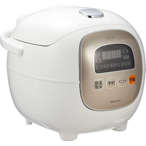 KNチヨダ NRM-M35A [マイコン式炊飯器 (ホワイト)]