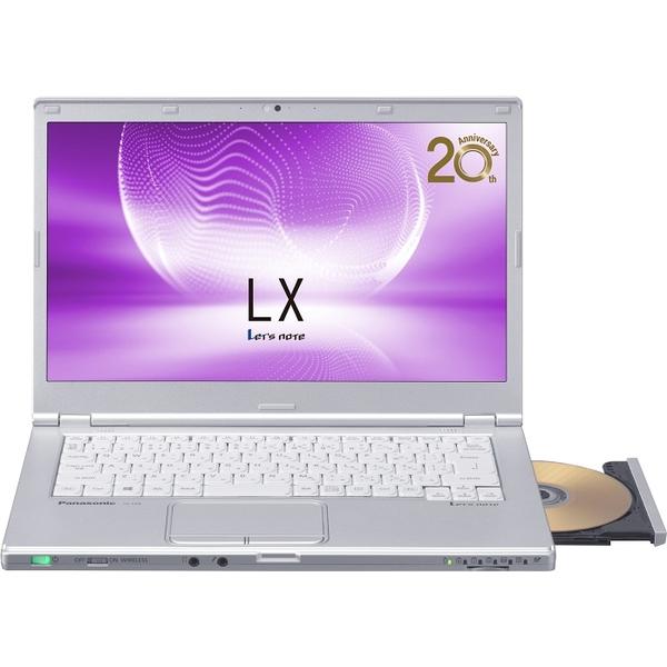 パナソニック CF-LX6EDGQS [Let's note LX6 法人モデル(i5/8/256/SM/10P/電S)] ビジネスPC