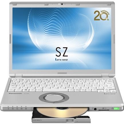パナソニック CF-SZ6ED3QS [Let's note SZ6 法人モデル(i5/8/256/SM/10P/電L)] ビジネスPC