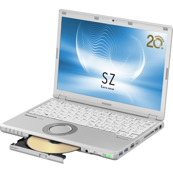 パナソニック CF-SZ6EDLQR [Let's note SZ6 店頭モデル(i5/128/SM/10P/SV)]