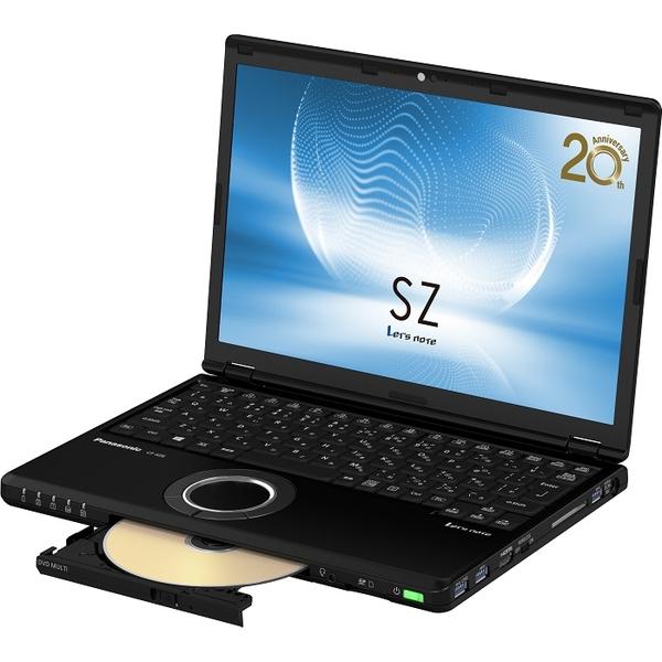 パナソニック CF-SZ6FFMQR [Let's note SZ6 店頭モデル(i7/256/SM/10P/BK/LTE)]