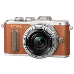 オリンパス PEN E-PL8 14-42mm EZ レンズキット BRW