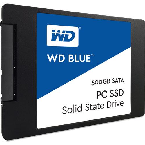 ウエスタンデジタル WDS500G1B0A [WD Blue SSD(500GB 2.5インチ SATA 6G 7mm厚 3年保証)]