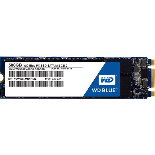 ウエスタンデジタル WDS500G1B0B [WD Blue SSD(500GB M.2(2280) SATA 6G 3年保証)]