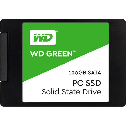 ウエスタンデジタル WDS120G1G0A [WD Green SSD(120GB 2.5インチ SATA 6G 7mm厚 3年保証)]