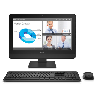 Dell OptiPlex DTOP013-704H65 [Opti3030AIO(7P32/4/i5/500/RW/5Y/HB16)]