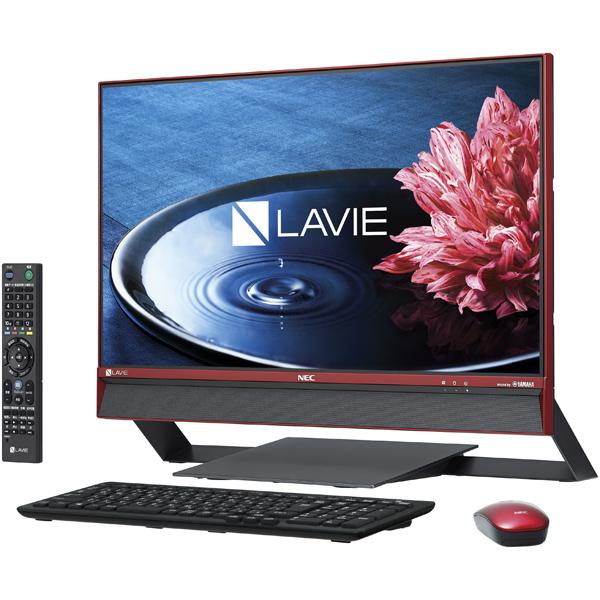 NEC LAVIE Desk All-in-one PC-DA770EAR [LAVIE Desk AiO - DA770/EAR クランベリーレッド]