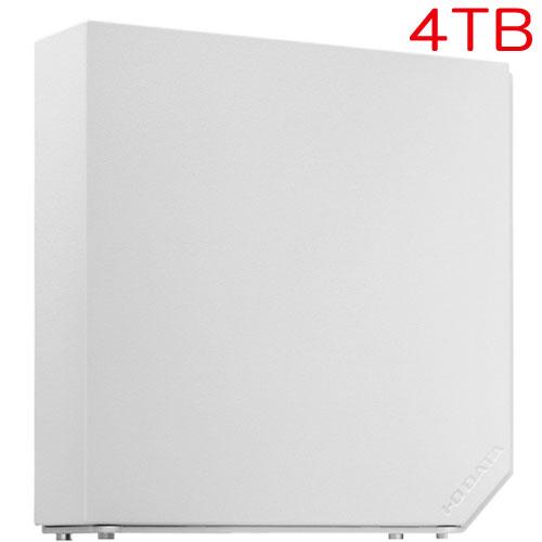 アイオーデータ EX-HD4ELW [USB 3.0/2.0対応 外付ハードディスク 4TB Moon White]