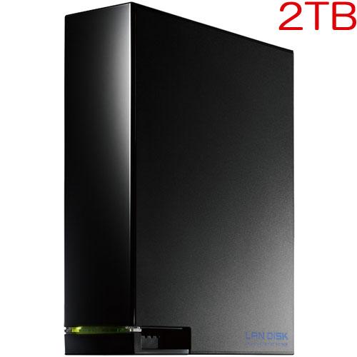 アイオーデータ HDL-AA2W [デュアルコアCPU搭載 1ドライブ高速ビジネスNAS 2TB]
