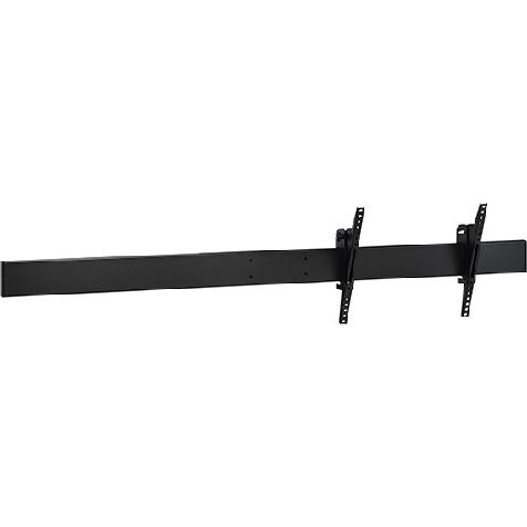 ハヤミ工産 CH CHP-B180M [マルチ金具(ヨコ向きヨコ2連)/ブラック]
