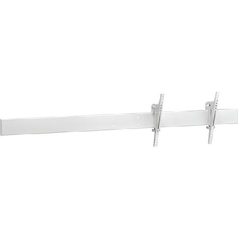ハヤミ工産 CH CHP-W180M [マルチ金具(ヨコ向きヨコ2連)/ホワイト]