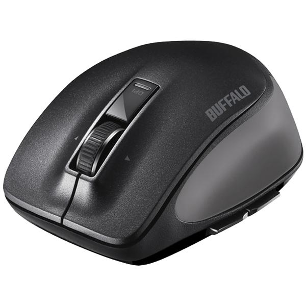 バッファローコクヨサプライ BSMBB500MBK [Bluetooth BlueLED プレミアムフィットマウス M ブラック]