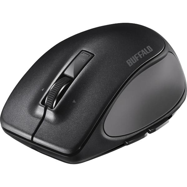 バッファローコクヨサプライ BSMBB500SBK [Bluetooth BlueLED プレミアムフィットマウス S ブラック]