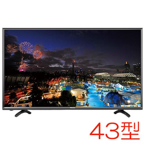 HJ43K3121 [43型フルハイビジョン液晶テレビ デジタル3波 LED]