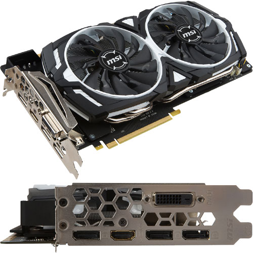 MSI Computer GeForce GTX 1080 ARMOR 8G OC