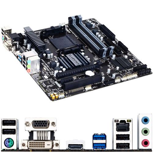 ギガバイト GA-78LMT-USB3 REV6.X [マザーボード AMD 760G+SB710/AM3+/DDR3/Micro ATX]