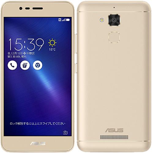 ASUS Zenfone ZC520TL-GD16 [ZenFone 3 Max (バッテリー搭載/5.2インチ) ゴールド]