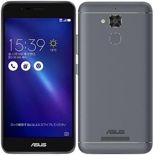 ASUS Zenfone ZC520TL-GY16 [ZenFone 3 Max (バッテリー搭載/5.2インチ) グレー]