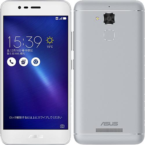 ASUS Zenfone ZC520TL-SL16 [ZenFone 3 Max (バッテリー搭載/5.2インチ) シルバー]