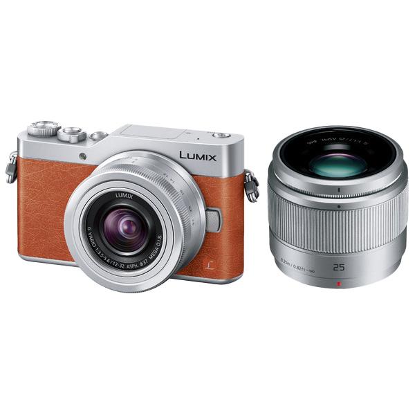 パナソニック LUMIX DC-GF9W-D [デジタル一眼カメラ GF9 Wレンズキット (オレンジ)]