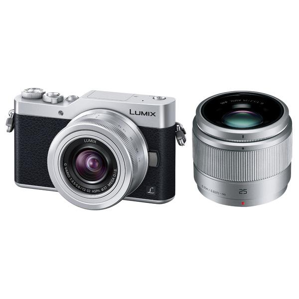 パナソニック LUMIX DC-GF9W-S [デジタル一眼カメラ GF9 Wレンズキット (シルバー)]