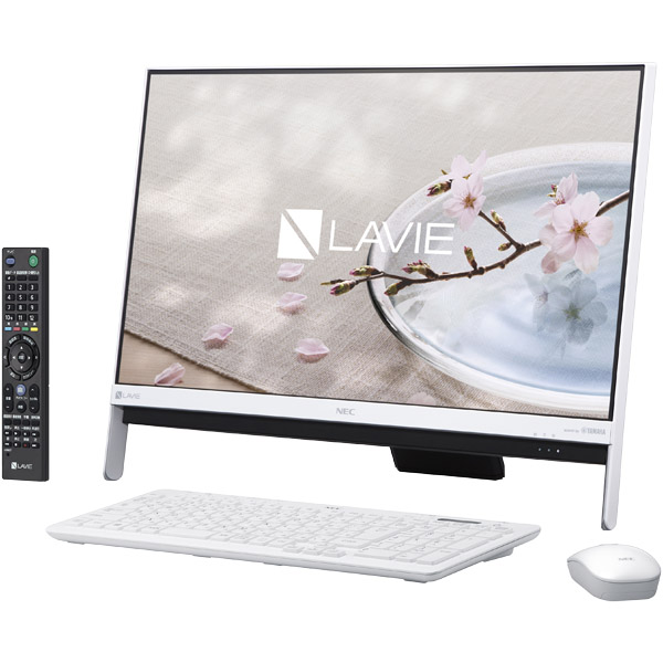 NEC LAVIE Desk All-in-one PC-DA370GAW [LAVIE Desk AiO - DA370/GAW ファインホワイト]