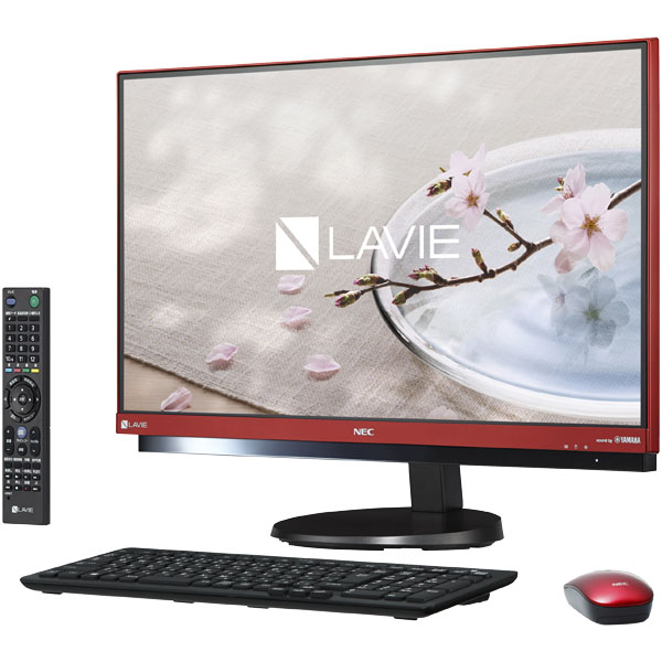 NEC LAVIE Desk All-in-one PC-DA770GAR [LAVIE Desk AiO - DA770/GAR ラズベリーレッド]