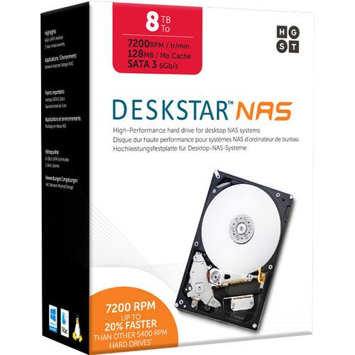 HGST 0S04012 [NASデスクトップドライブキット(8TB 3.5インチ SATA 6G 7200rpm 128MB)]