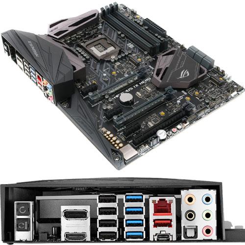 ASUS MAXIMUS IX HERO [R.O.G.シリーズ マザーボード Intel Z270/LGA1151/DDR4/USB 3.1 Type-C/ATX]