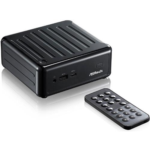 ASRock Beebox J3160/B/BB [ミニPC Beebox ベアボーン ブラック (Celeron J3160/DDR3L/802.11ac/USB 3.0 Type-C)]