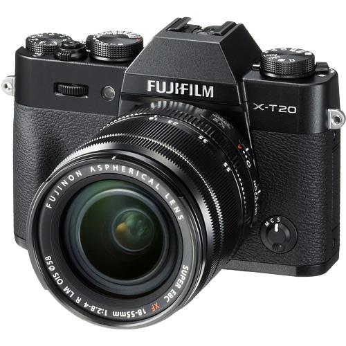 富士フイルム X-T20LK-B [レンズ交換式カメラ X-T20/XF18-55mmキット(ブラック)]