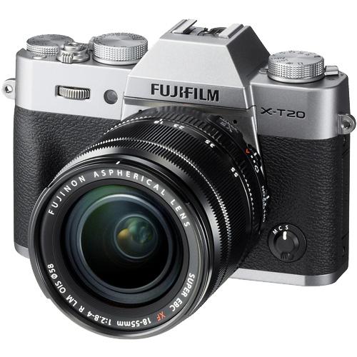 富士フイルム X-T20LK-S [レンズ交換式カメラ X-T20/XF18-55mmキット(シルバー)]