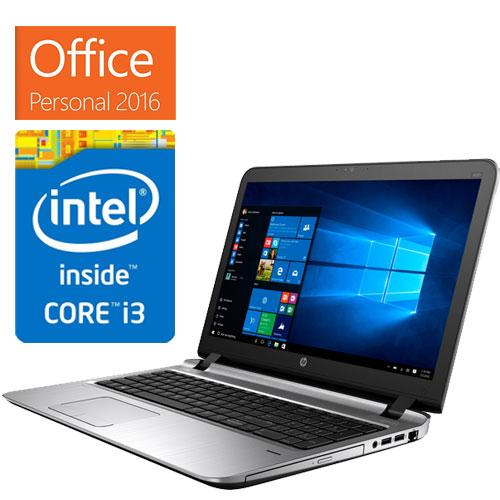 HP Compaq 1KR12PA#ABJ [ProBook450 G3 (i3-6100U 4GB 500GB DSM Win7Pro32(Win10PDG) Personal2016)]