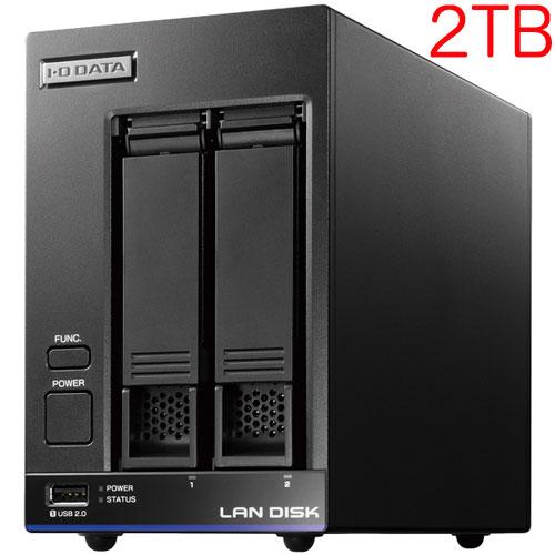 HDL2-X2 [高性能CPU&「WD Red」搭載 2ドライブNAS 2TB]