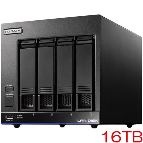 HDL4-X16 [高性能CPU&「WD Red」搭載 4ドライブNAS 16TB]