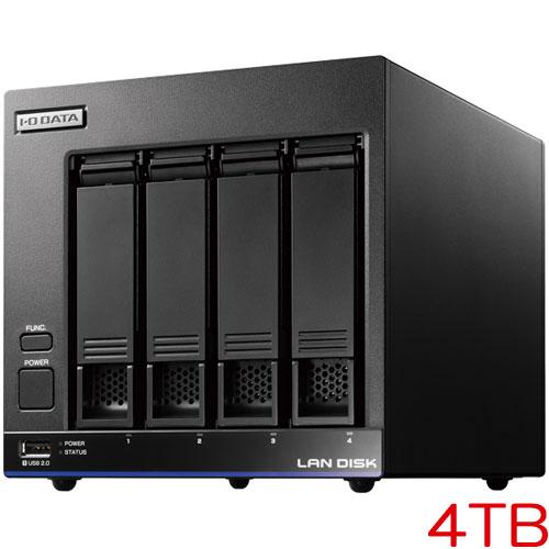 アイオーデータ HDL4-X4 [高性能CPU&「WD Red」搭載 4ドライブNAS 4TB]