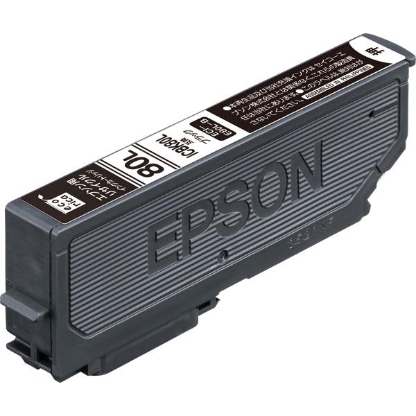 エレコム ECI-E80L-B [エコリカ リサイクルインク/EPSON/ICBK80L互換/ブラック]
