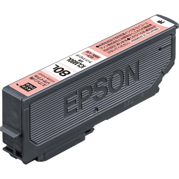 エレコム ECI-E80L-LM [エコリカ リサイクルインク/EPSON/ICLM80L互換/ライトマゼンタ]
