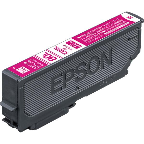 エレコム ECI-E80L-M [エコリカ リサイクルインク/EPSON/ICM80L互換/マゼンタ]