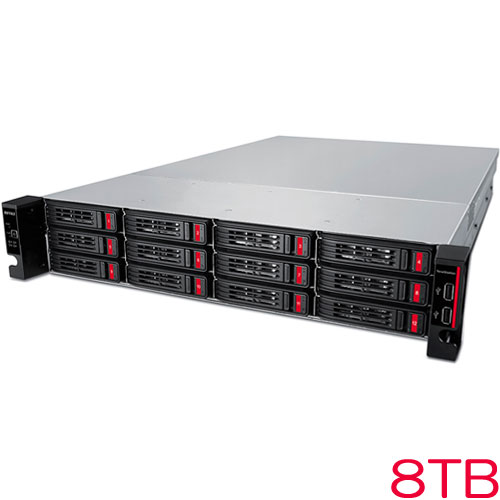 TeraStation TS51210RH TS51210RH0804 [10GbE搭載 12ドライブNAS 4ベイ ラックマウント 8TB]