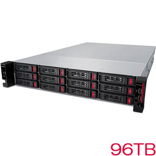 TeraStation TS51210RH TS51210RH9612 [10GbE搭載 12ドライブNAS 12ベイ ラックマウント 96TB]