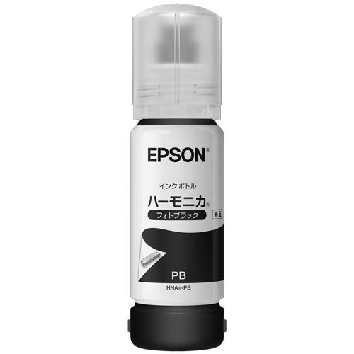 エプソン HNA-PB [エコタンク搭載モデル用 インクボトル/ハーモニカ(フォトブラック)/70ml]