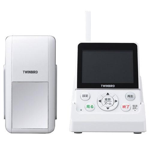 ツインバード ホームセキュリティーシリーズ VC-J560W [ワイヤレス・ドアスコープモニター DoNaTa( ドナタ )]
